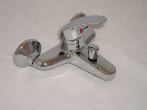 SINGLE LEVER WALL MOUNTED BATH SHOWER MIXER TAPS