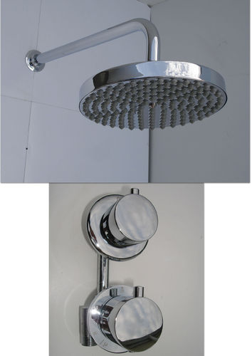 1 WAY THERMOSTATIC RAIN SHOWER SET