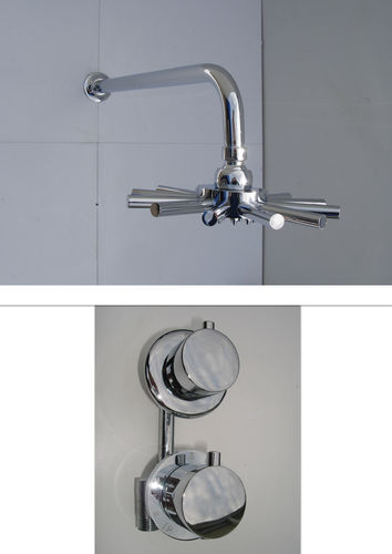 1 WAY THERMOSTATIC STAR HEAD SHOWER SET