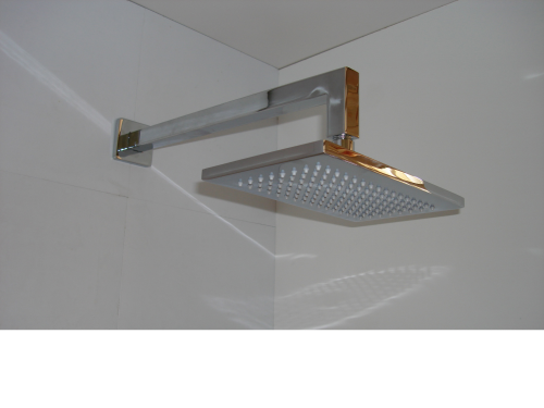 Rectangular Shower Head & Wall Arm