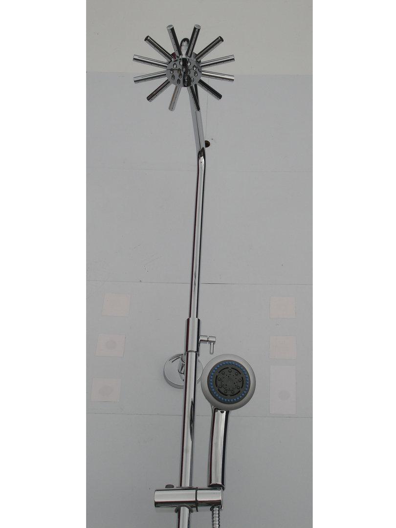 deck thermostatic bath shower mixer taps rigid riser star head deck thermostatic bath shower mixer taps rigid riser star head multi funtion hand