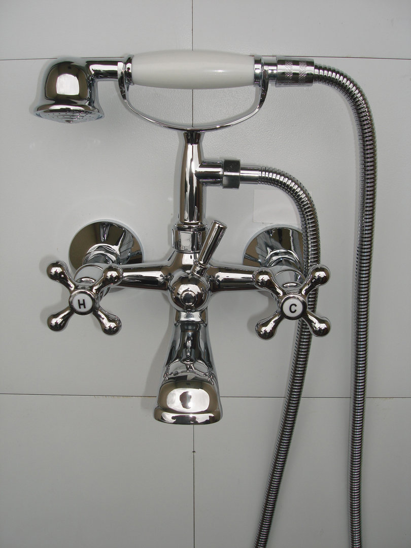 Telephone Cradle For The Hand Shower Set On Victorian Bath Shower Mixer Taps Panda Online Ltd
