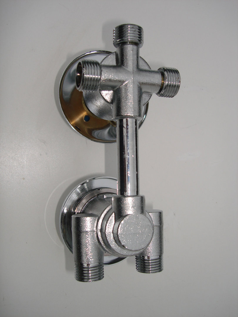 3 Way Thermostatic Valve Bath Amp Dual Round Style Shower