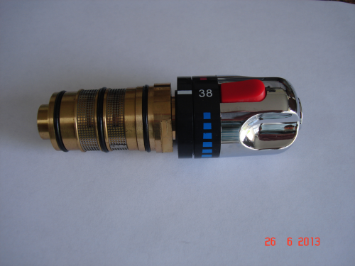 Thermostatic Cartridge with Handle for 057, 057D, 058, 034, 063, etc.