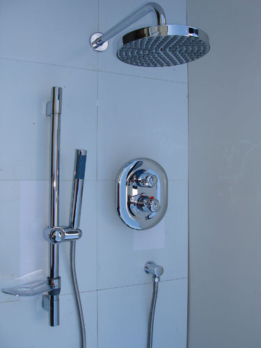 DUAL FUNCTION THERMOSTATIC RAIN & HANDHELD SHOWER SET
