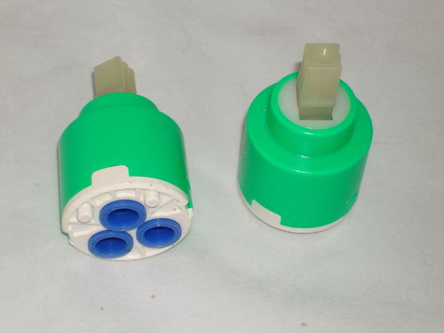 35mm Ceramic Disc Cartridge for Mixer Taps or Shower Valves, Blue Colour, Individual Seals