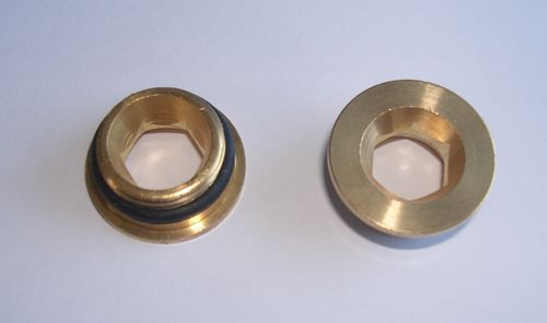 Pair (2) of Brass Insert for Inlet Nuts
